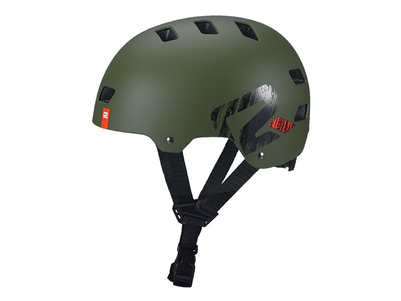Přilba P2R DAPP, L 59-61cm, dark olive, matt