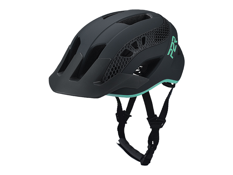 Přilba P2R ZENERO, S/M, Charcoal/Turquoise