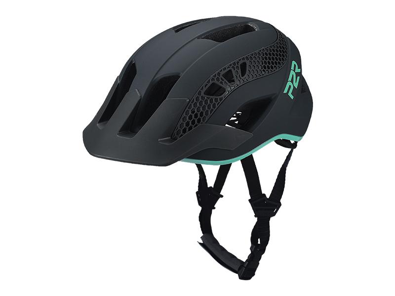 Přilba P2R ZENERO, M/L,Charcoal/Turquoise