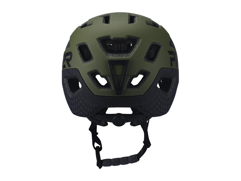 Prilba P2R FORTEX S/M, Matte Army Green/Charcoal