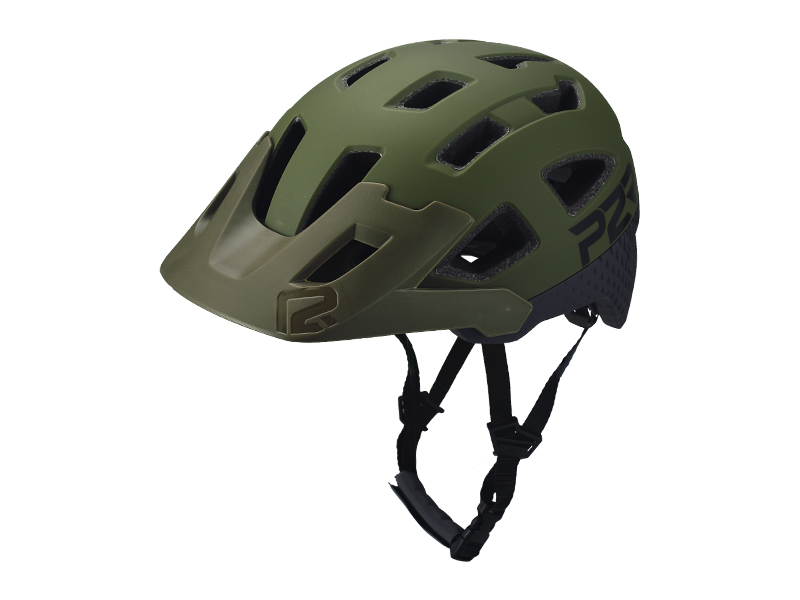 Přilba P2R FORTEX M/L, Matte Army Green/Charcoal