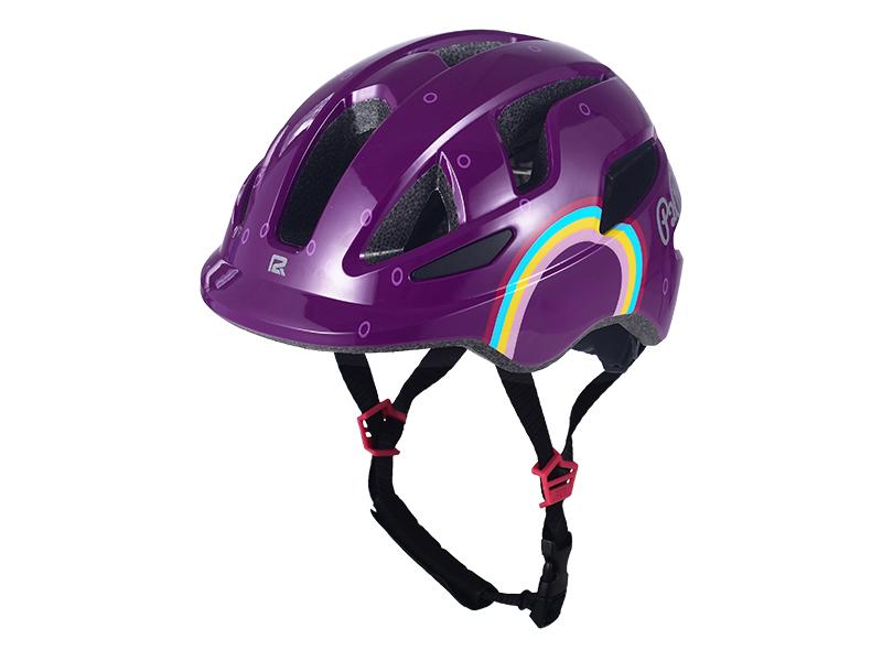 Přilba P2R MASCOT, XS, Rainbow purple