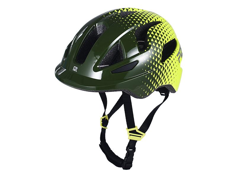 Přilba P2R MASCOT, S, Army green/Lime