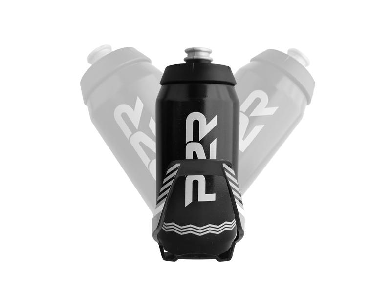 Láhev P2R AQUILA 550 ml, black-white