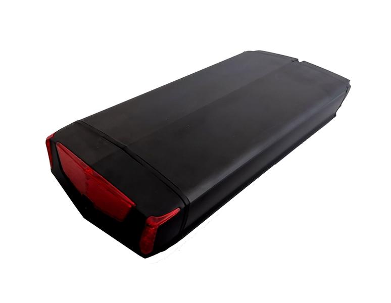Nosičová batéria DEMA, články Samsung 32E CANBUS / UART 36V 16Ah